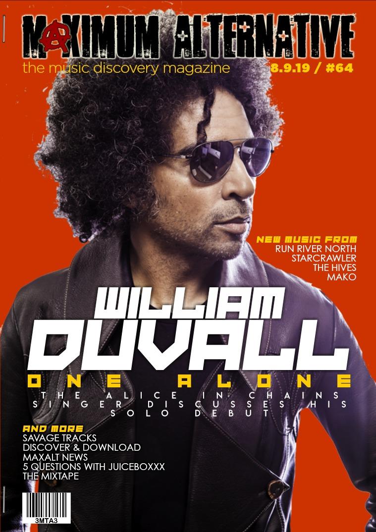 Maximum Alternative Issue 64. William Duvall of Alice In Chains.