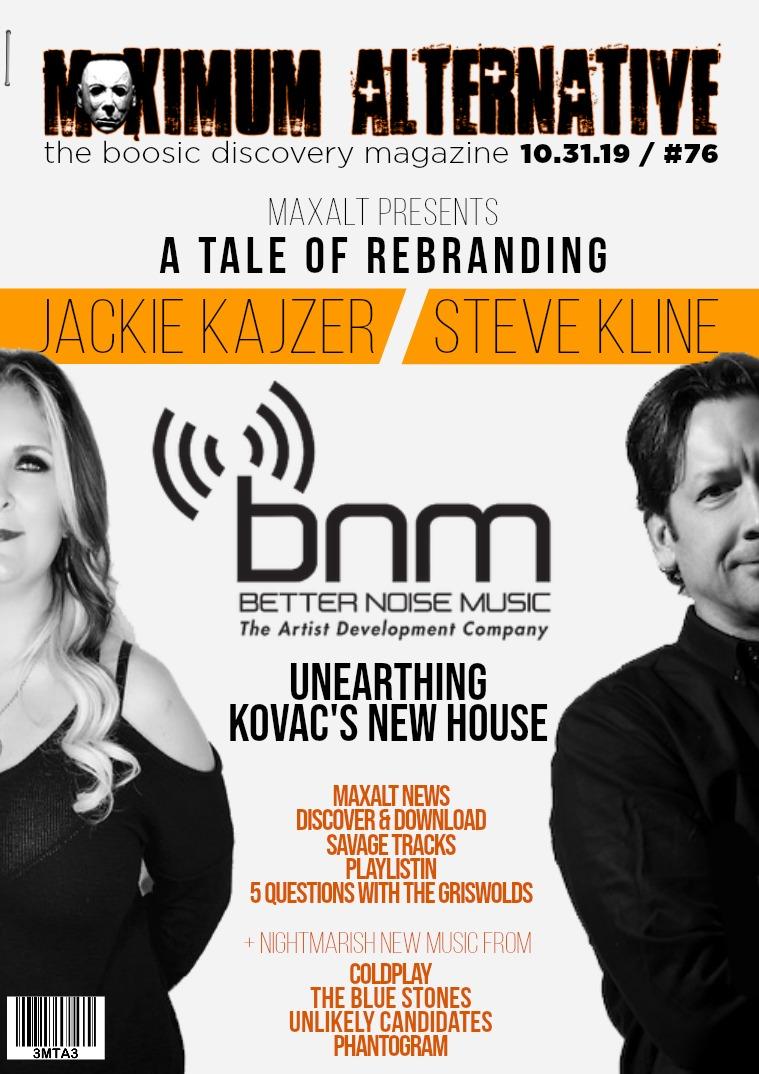 Issue 76 Kajzer & Kline of Better Noise!