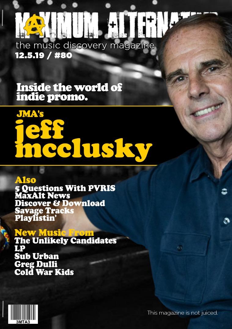 Issue 80 Jeff McClusky of JMA