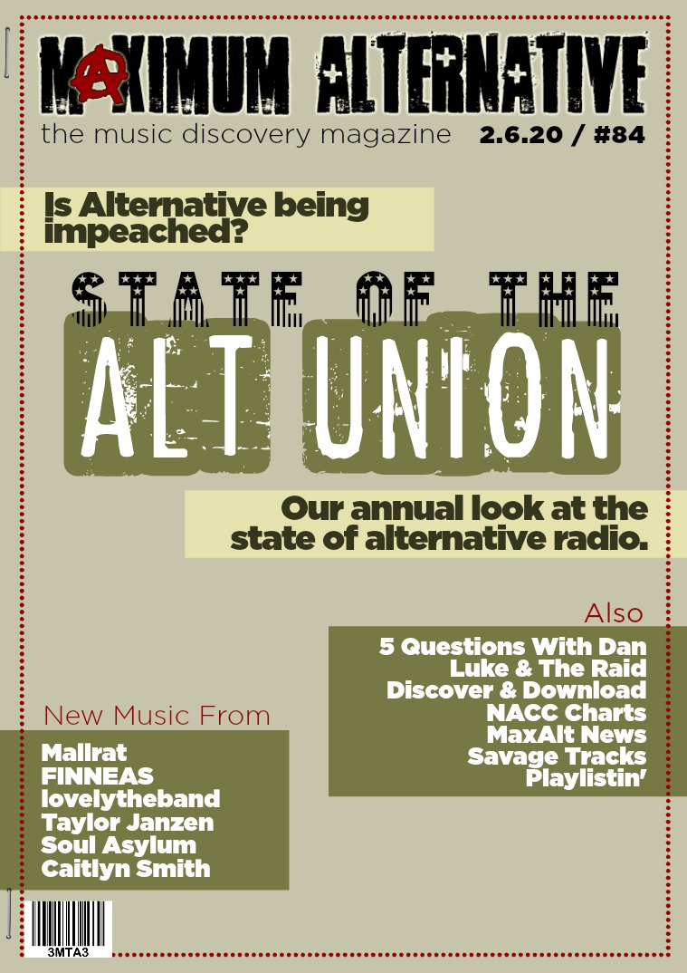 Issue 84 State of the Alt Union 2020
