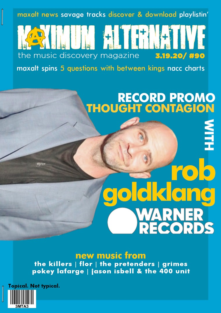 Issue 90 Rob Goldklang of Warner Records!