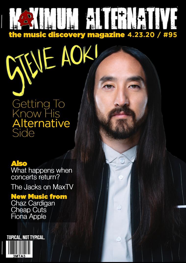 Maximum Alternative Issue 95 - Steve Aoki & The Jacks