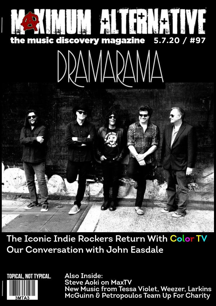 Issue 97 - John Easdale of Dramarama