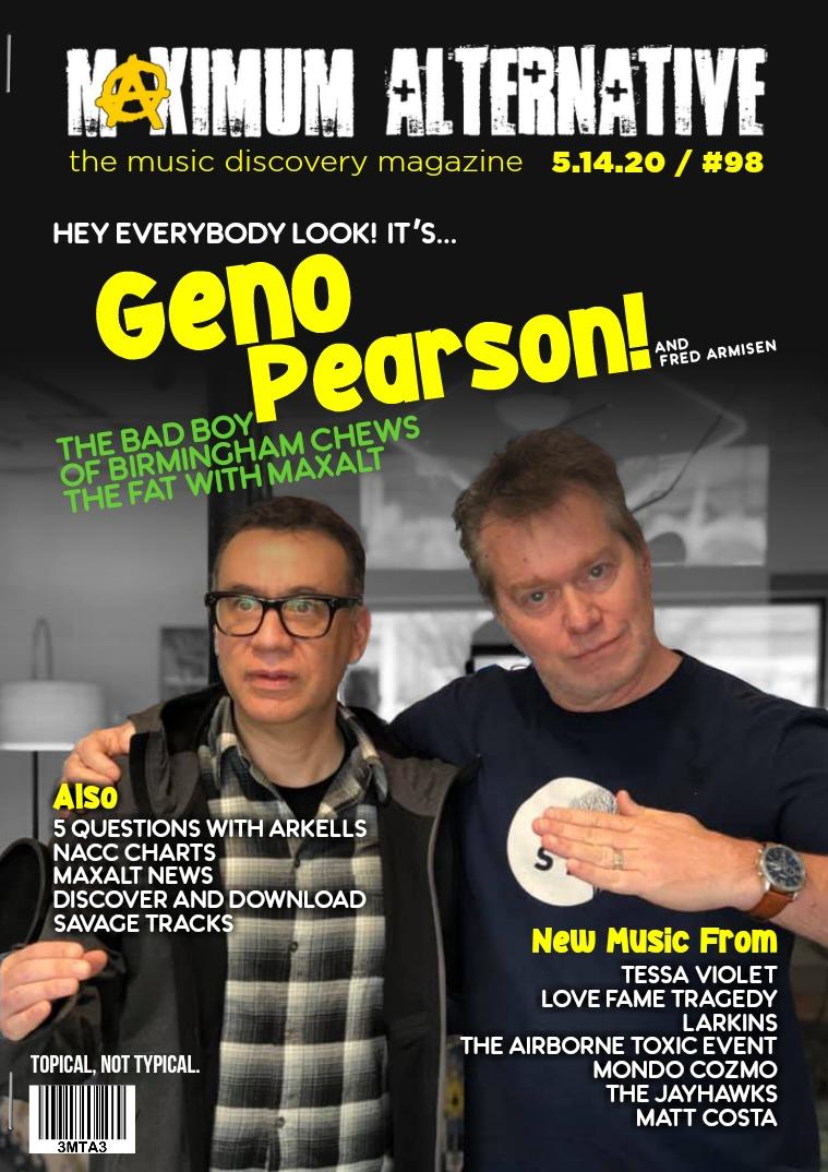 Maximum Alternative Issue 98 - Geno Pearson of Birmingham Radio