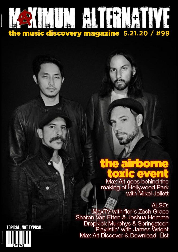 Maximum Alternative Issue 99 - Mikel Jollett The Airborne Toxic Event