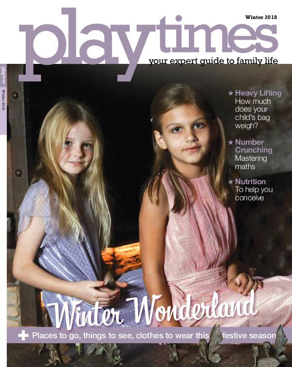 Playtimes HK Magazine Winter Issue 2018/2019