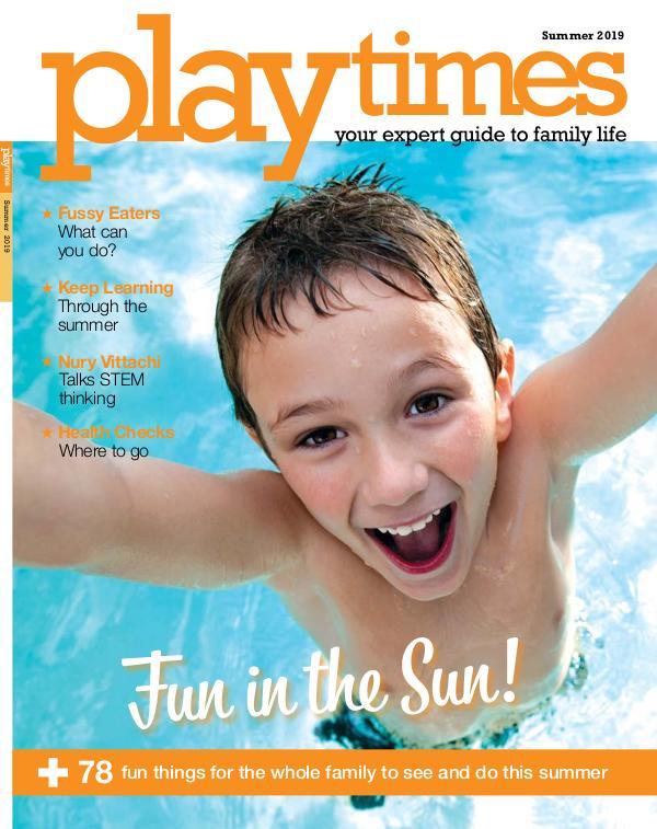 Playtimes HK Magazine Summer 2019 Issue