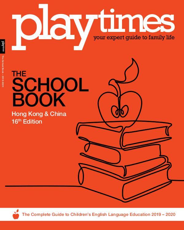 Playtimes HK Magazine The School Book 2019-2020