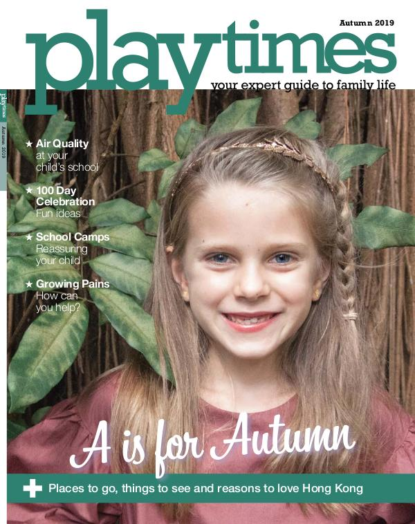 Playtimes HK Magazine Autumn Issue 2019