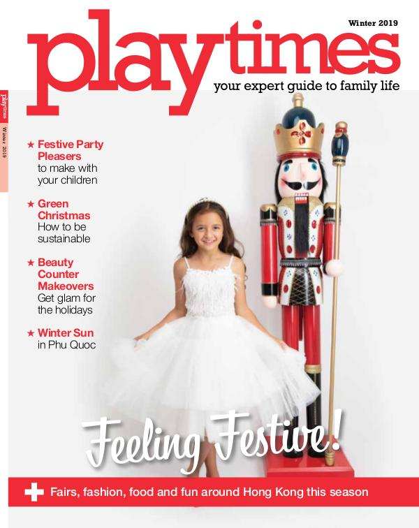Playtimes HK Magazine Winter Issue 2019