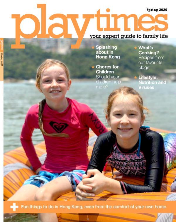 Playtimes HK Magazine Spring Issue 2020
