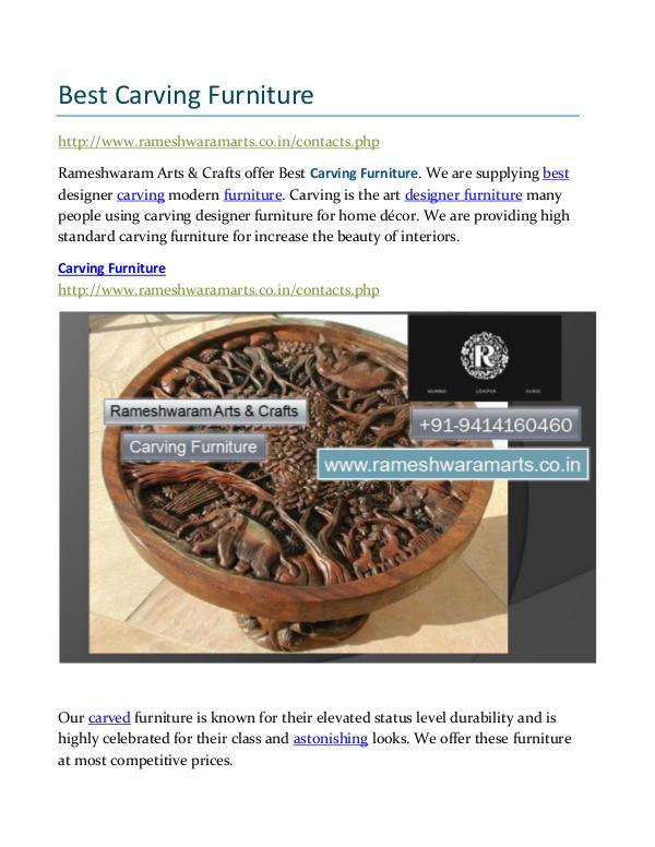 Best Carving Furniture Best Carving Furniture