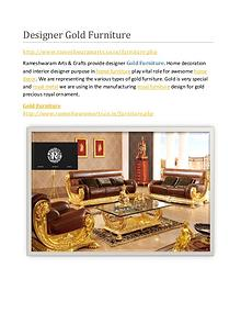 Best Gold Furniture