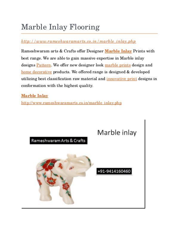 Marble Inlay Marble Inlay Flooring