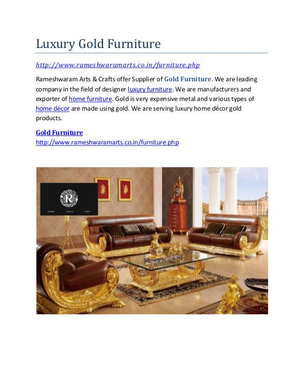 Gold Furniture Store Luxury Gold Furniture