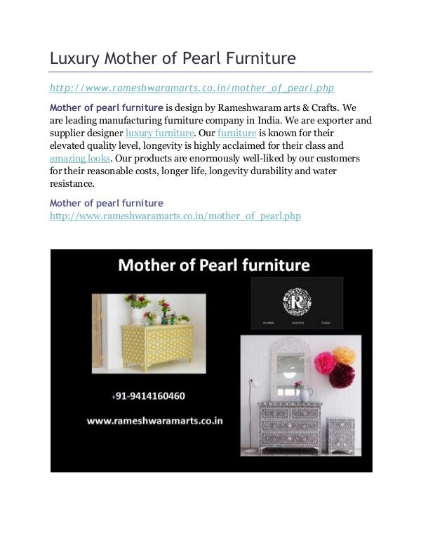 Mother of Pearl Furniture Luxury Mother of Pearl Furniture