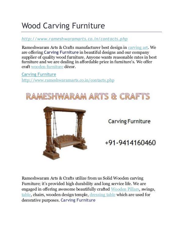 Best Carving Furniture Wood Carving Furniture