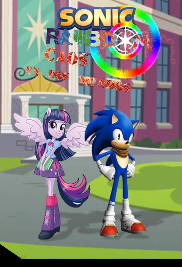 Sonic Rainboom: Caos en dos mndos Primera edición