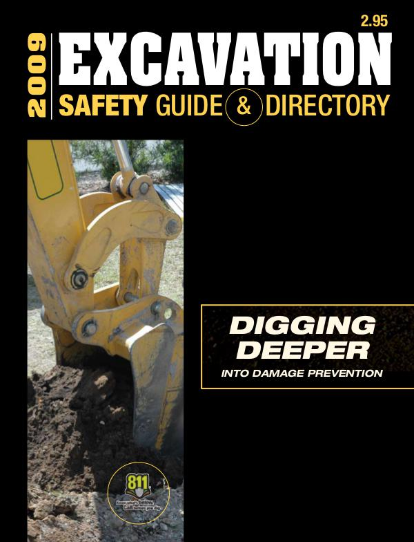 Excavation Safety Guide 2009
