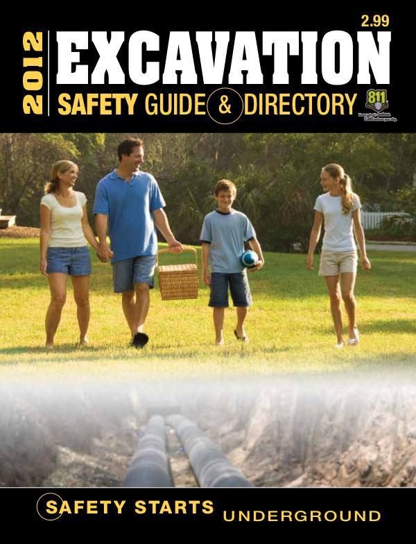 Excavation Safety Guide 2012