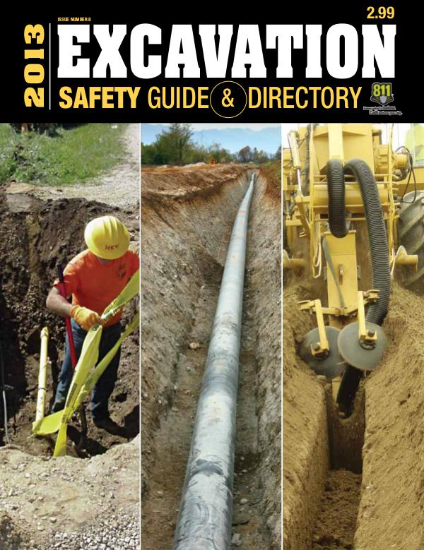 Excavation Safety Guide 2013