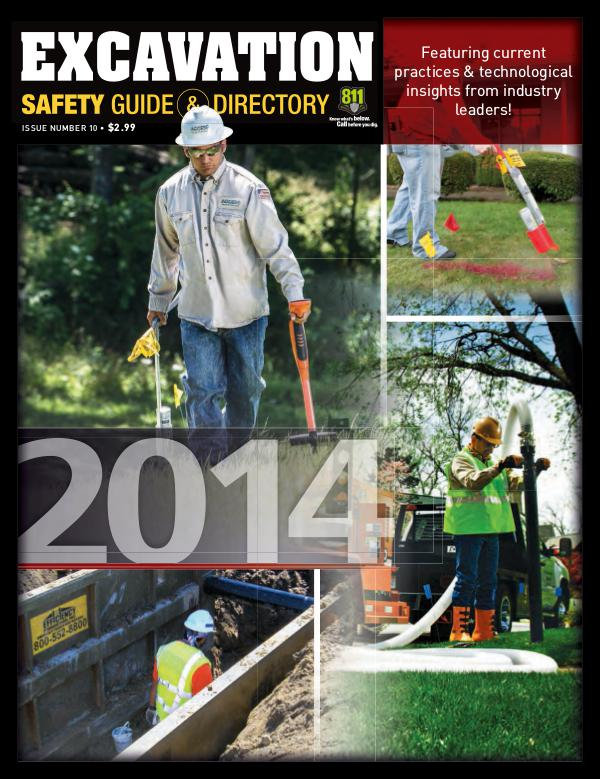 Excavation Safety Guide 2014