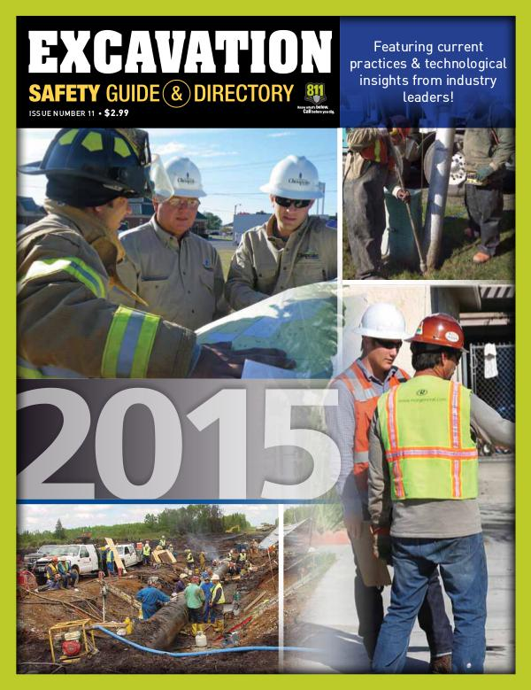 Excavation Safety Guide 2015