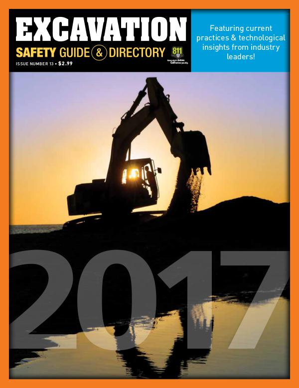 Excavation Safety Guide 2017