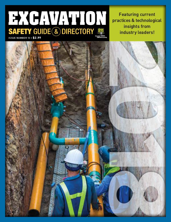 Excavation Safety Guide 2018