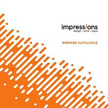 Impressions Signage Catalogue