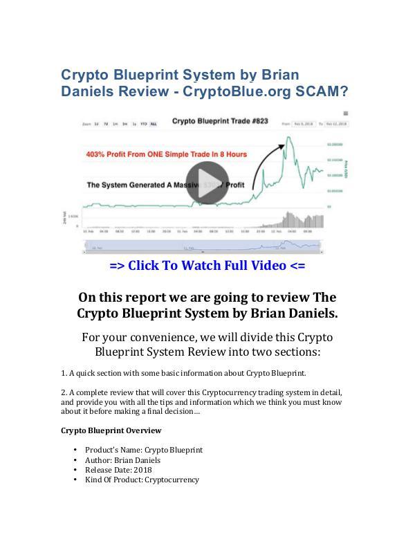 Crypto blueprint system by brian daniels review cryptoblue crypto blueprint system by brian daniels review cryptoblue scam crypto blueprint system brian malvernweather Gallery