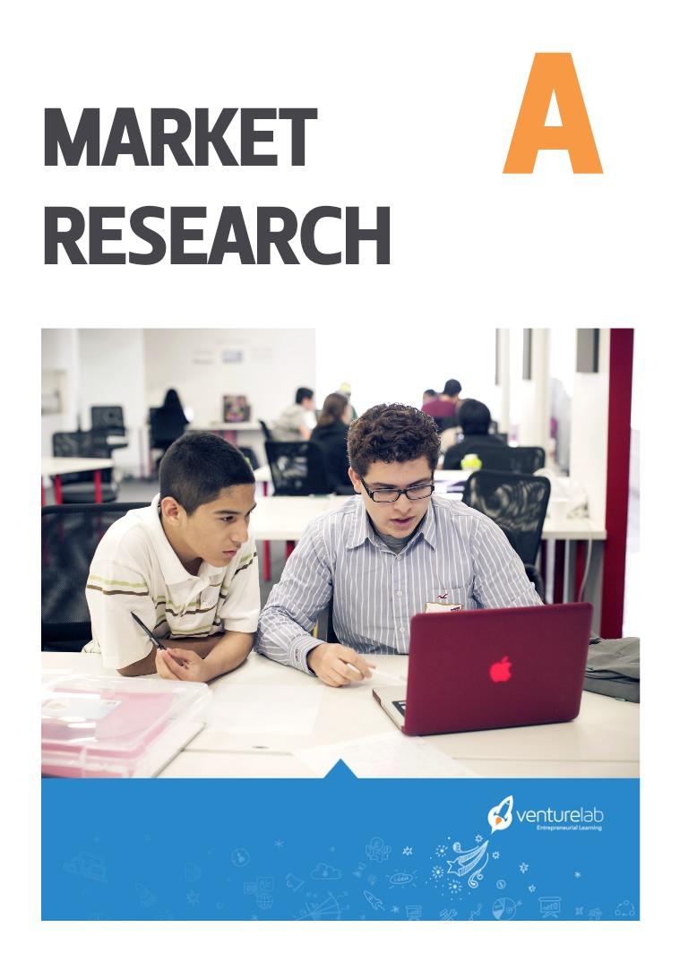 VentureLab: Grades 6-8 Market Research A