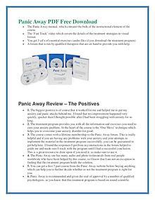 Panic Away Pdf Ebook Book Review Free Download