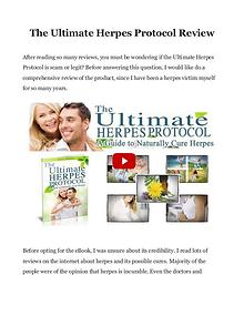 The Ultimate Herpes Protocol PDF / eBook