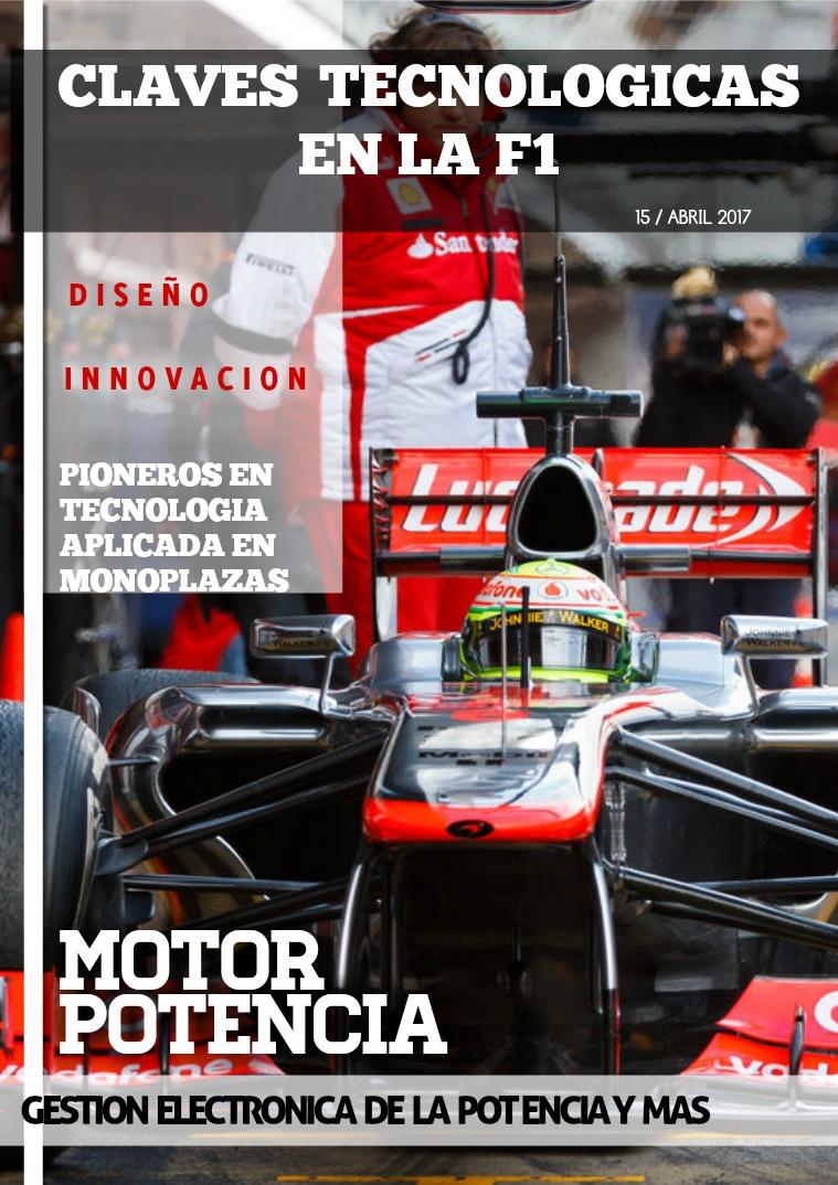 CLAVES TECNOLOGICAS EN LA F1 TECNOLOGÍA EN LA F1