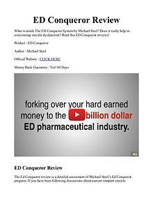 ED Conqueror PDF / System Review