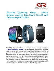 Global Info Research- market Research Reports Wearable Technology Market