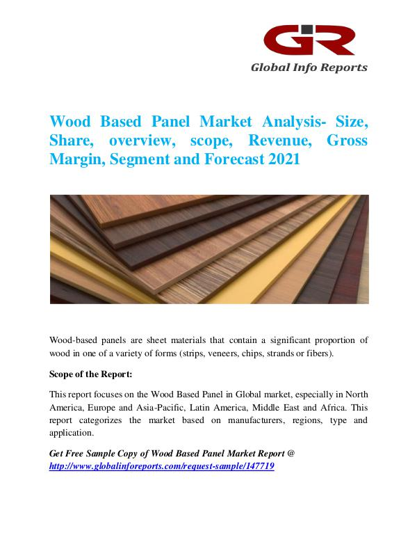 Global Info Research- market Research Reports Wood Based Panel Market