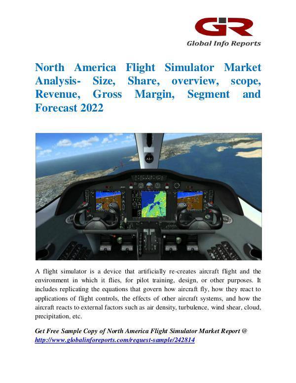 North America Flight Simulator Market
