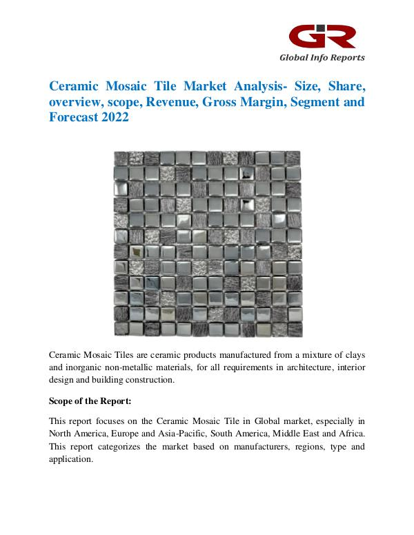 Global Ceramic Mosaic Tile Market