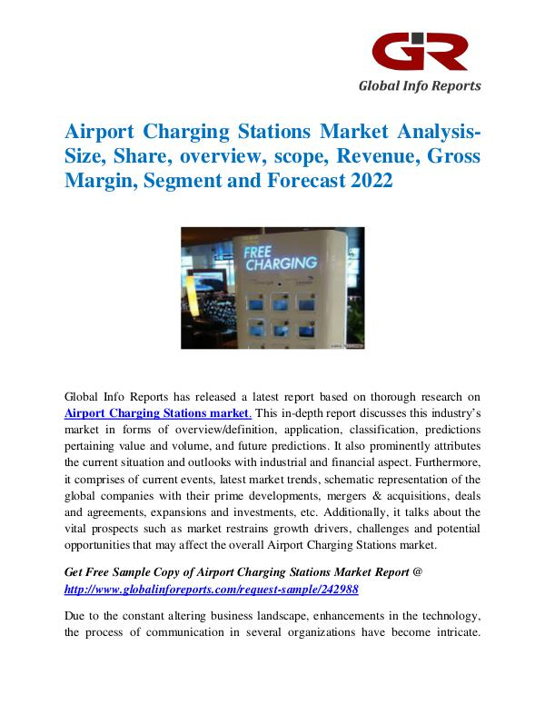 Global Info Research- market Research Reports Global Airport Charging Stations Market