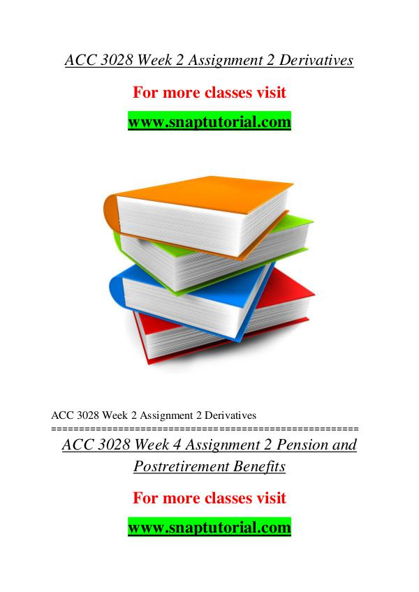 ACC 3028 help A Guide to career/Snaptutorial ACC 3028 help A Guide to career/Snaptutorial