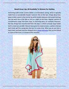 beachwear uk