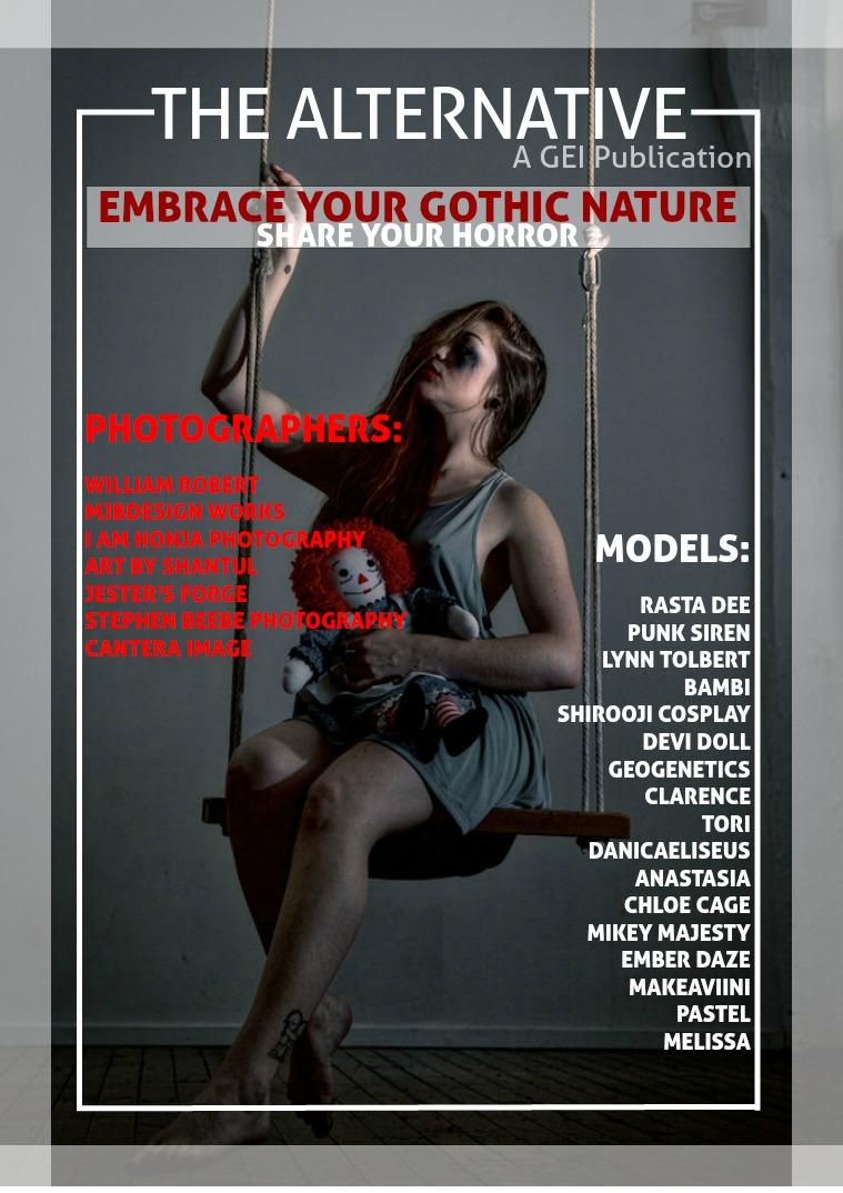GEI: The Alternative August's Horror & Goth