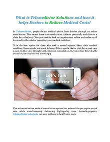 Telemedical services - KOOLMD
