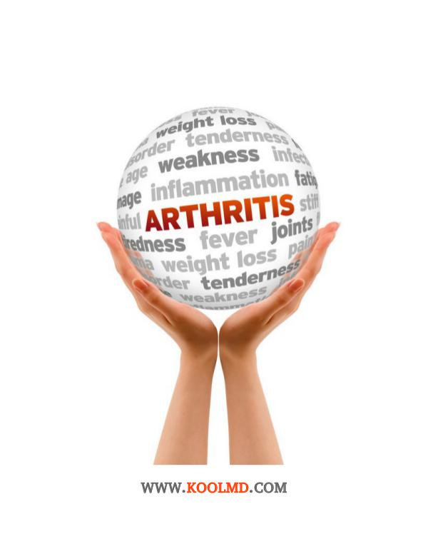 Coping with Arthritis with the help of Telehealth Services Coping with Arthritis with the Help of Telehealth
