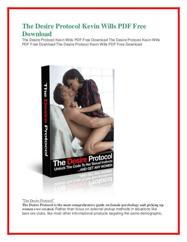 The Desire Protocol PDF Free Download The Desire Protocol PDF Free Download