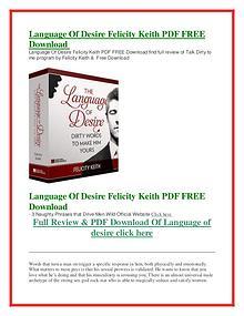 Language Of Desire PDF Free Download