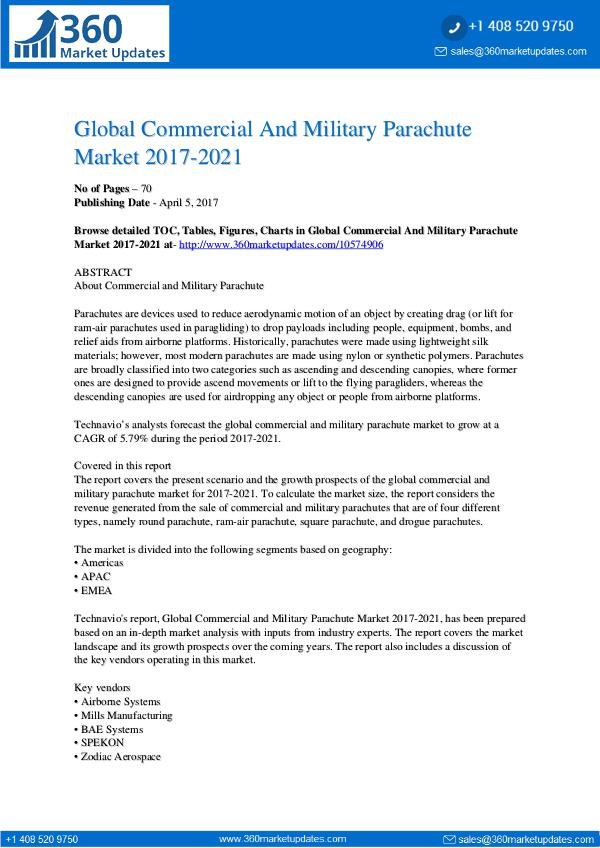 Market Research Global-Commercial-And-Military-Parachute-Market-20