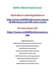 card 405,devry card 405,devry card 405 entire course,devry card 405en